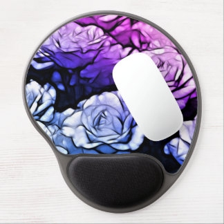 Purple Roses.png Gel Mouse Pad