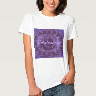 Purple Roses T Shirts