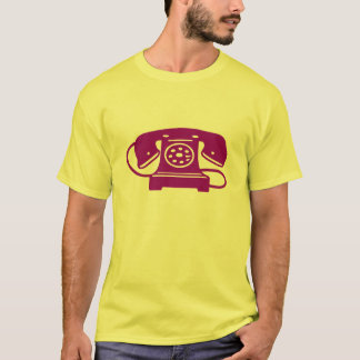 Purple rotary phone T-Shirt
