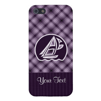 Purple Sailing Case For iPhone 5