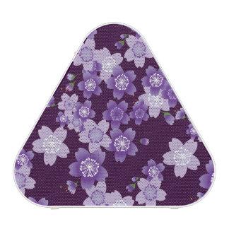 Purple Sakura Cherry Blossoms Speaker