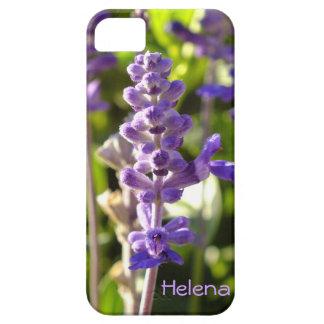 Purple Salvia Flower iPhone 5 case