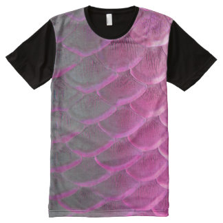 purple scales All-Over print T-Shirt