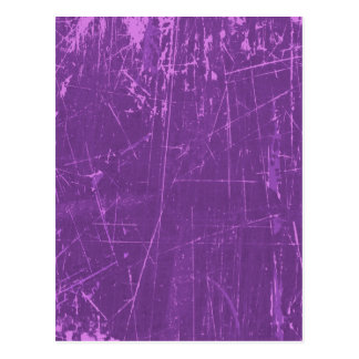 Purple Scratched Aged and Worn Texture Post Cards