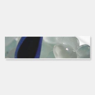 Purple Sea Glass Bumper Sticker