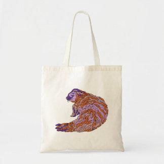 Purple Seal Tote Bags