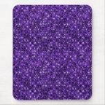purple sequin effect mousepad