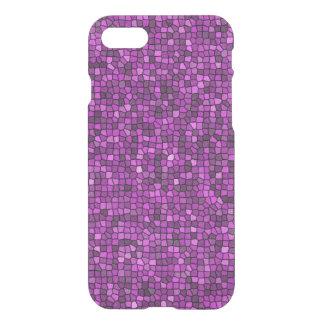 Purple Sequin Look iPhone 7 Case