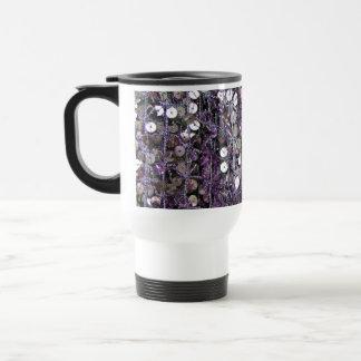 Purple Sequins & Beads Mug