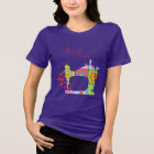 Purple Sew Crazy Funny T-shirt by Mini Brothers