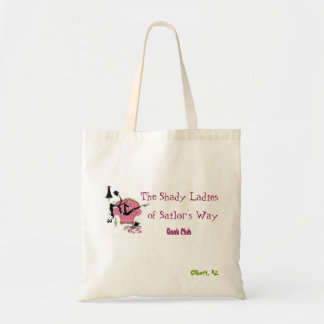 Purple Shady Lady Tote Bag
