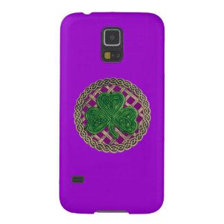 Purple Shamrock Celtic Knots Galaxy Nexus Case