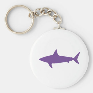 Purple Shark Keyring