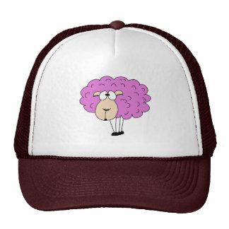 Purple sheep cap