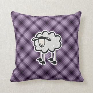 Purple Sheep Cushion