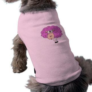 Purple sheep dog tee shirt