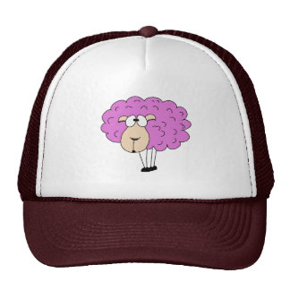 Purple sheep hat