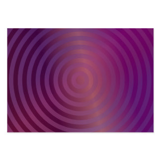 Purple shiny circles pack of chubby business cards
