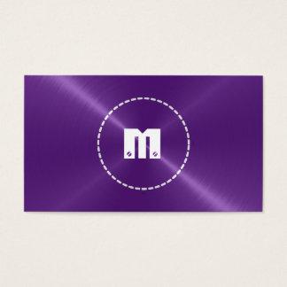 Purple Shiny Stainless Steel Metal