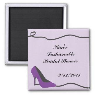 Purple Shoe Magnet