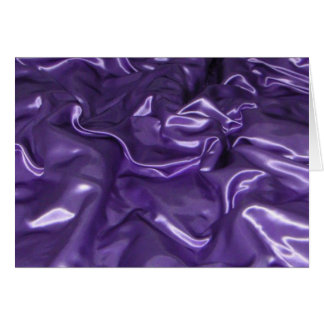 Purple Silk Card