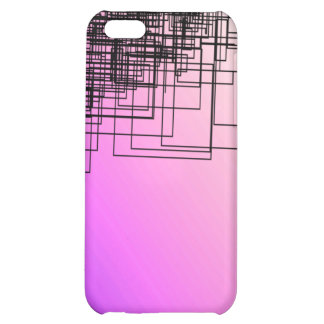 Purple & Sketch iPhone 5C Cover