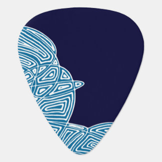 Purple Skies Guitar Pick