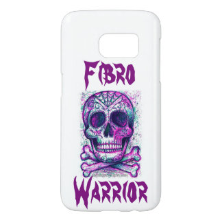 Purple Skull Fibro Warrior