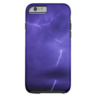 Purple Sky Lightening iPhone 6 Case