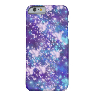 Purple Sky - Stars Space Galaxy Barely There iPhone 6 Case