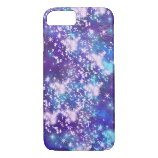 Purple Sky - Stars Space Galaxy iPhone 8/7 Case