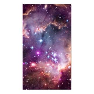 Purple Small Magellanic Cloud Business Card Templates