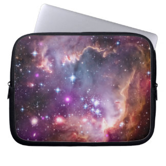 Purple Small Magellanic Cloud Laptop Sleeve