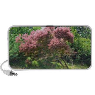 Purple Smoke Tree Laptop Speaker