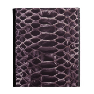 Purple Snake Skin iPad Folio Cases