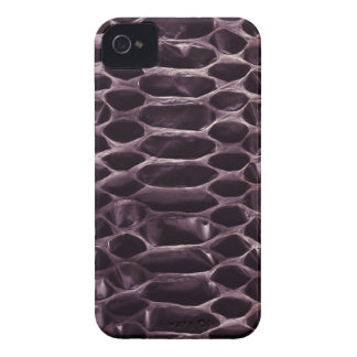 Purple Snake Skin iPhone 4 Case-Mate Cases