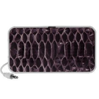 Purple Snake Skin Laptop Speaker