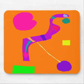 Purple Snake Wise Wit Green Egg Play Swift Mousepads