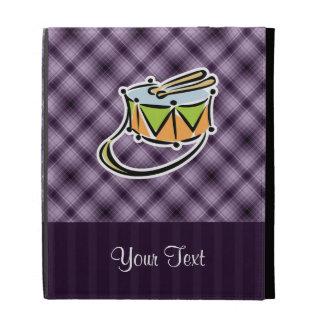 Purple Snare Drum iPad Folio Cover