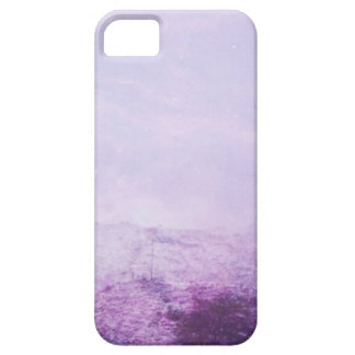 Purple snow iPhone 5 cover