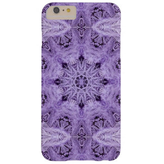 Purple Snowflake Barely There iPhone 6 Plus Case