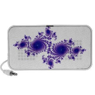 Purple Snowflake Travel Speakers