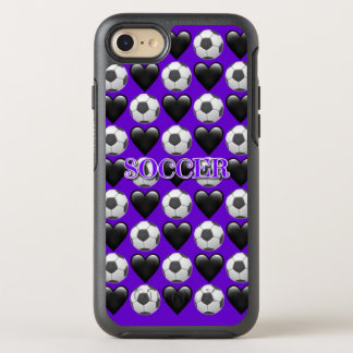 Purple Soccer iPhone 7 Otterbox Case