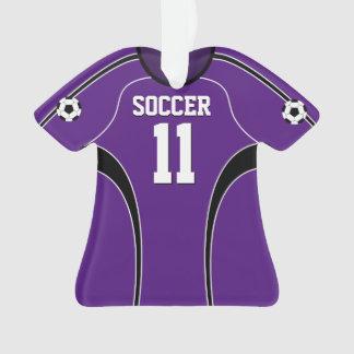 Purple Soccer Jersey