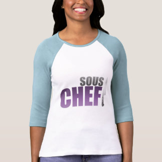 Purple Sous Chef Tshirts