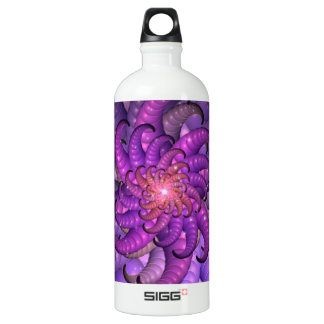 Purple Space Anemone Fractal Abstract Art SIGG Traveller 1.0L Water Bottle
