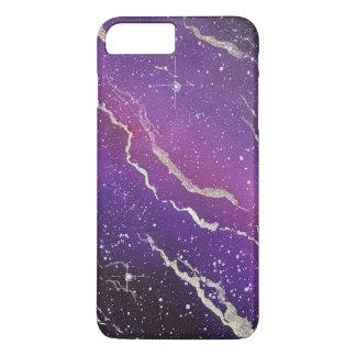 Purple Space Galaxy iPhone Case