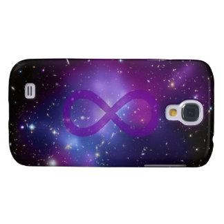 Purple Space Image Galaxy S4 Covers