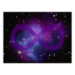 Purple Space Image Posters
