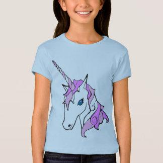 Purple Sparkle Unicorn T Shirt